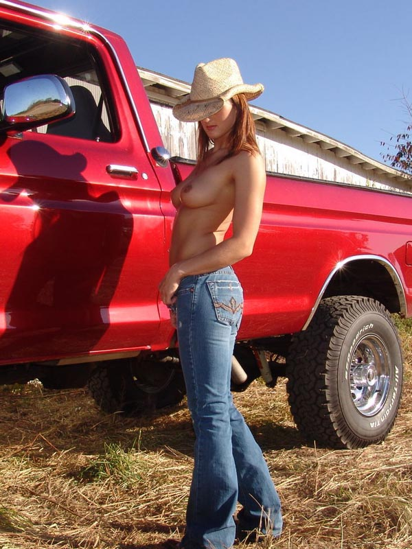 Hot xxx misty anderson red truck